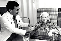 Convent Hospital, Woodthorpe & Abbeyfield Society home, Nottingham UK Nov 1992