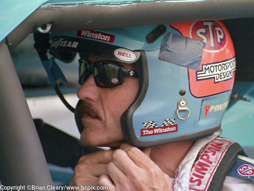 Richard Petty king 43 Pepsi 400 at Daytona International Speedway in Daytona beach, FL on July 1, 1989. (Photo by Brian Cleary/www.bcpix.com)