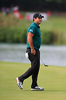 Patrick Reed (USA) on the 9th during the 1st round at the WGC HSBC Champions 2018, Sheshan Golf Club, Shanghai, China. 25/10/2018.<br /> Picture Fran Caffrey / Golffile.ie<br /> <br /> All photo usage must carry mandatory copyright credit (&copy; Golffile | Fran Caffrey)