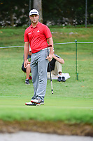 Jon Rahm (ESP) watches his birdie attempt on 1 during round 4 of the Dean &amp; Deluca Invitational, at The Colonial, Ft. Worth, Texas, USA. 5/28/2017.<br /> Picture: Golffile | Ken Murray<br /> <br /> <br /> All photo usage must carry mandatory copyright credit (&copy; Golffile | Ken Murray)