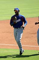 Julio Borbon - AZL Rangers..Photo by:  Bill Mitchell/Four Seam Images