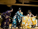 Twelfth Night after William Shakespeare,A Shochiku Grand Kabuki Production directed by Yukio Ninagawa.With Onoe Kikugoro VII as Malvolio Opens at The Barbican Theatre on 24/3/09 CREDIT Geraint Lewis