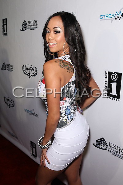 LIANE V.. Attendees to Souljah Boy Red Carpet Birthday Bash and Performance, sponsored by Swaggmedia.com, at the Highlands. Hollywood, CA, USA. July 28, 2010.