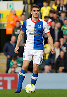 Blackburn Rovers' Tommie Hoban in action<br /> <br /> Photographer David Shipman/CameraSport<br /> <br /> The EFL Sky Bet Championship - Norwich City v Blackburn Rovers - Saturday 11th March 2017 - Carrow Road - Norwich<br /> <br /> World Copyright &copy; 2017 CameraSport. All rights reserved. 43 Linden Ave. Countesthorpe. Leicester. England. LE8 5PG - Tel: +44 (0) 116 277 4147 - admin@camerasport.com - www.camerasport.com