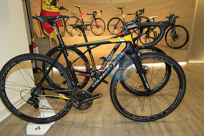 Colnago Factory, Cambiago, Italy. 30th September 2015.<br /> Picture: Eoin Clarke | Newsfile
