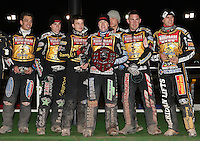Craven Shield winners Coventry - Coventry Bees vs Lakeside Hammers - Craven Shield Final 2nd Leg at Brandon, Coventry - 24/10/08 - MANDATORY CREDIT: Rob Newell/TGSPHOTO