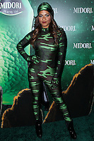 WEST HOLLYWOOD, CA - OCTOBER 29:  Christina Milian arrives at the 3rd Annual Midori Green Halloween Party held at Bootsy Bellows on October 29, 2013 in West Hollywood, California. (Photo by Xavier Collin/Celebrity Monitor)