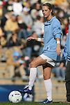 27 November 2009: North Carolina's Alyssa Rich. The University of North Carolina Tar Heels defeated the Wake Forest University Demon Deacons 5-2 at Fetzer Field in Chapel Hill, North Carolina in an NCAA Division I Women's Soccer Tournament Quarterfinal game.