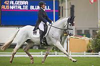 AUS-Natalie Blundell (ALGEBRA) INTERIM-14TH: DRESSAGE: 2014 GBR-CCI4* Mitsubishi Motors Badminton International Horse Trial (Thursday 8 May) CREDIT: Libby Law COPYRIGHT: LIBBY LAW PHOTOGRAPHY - NZL