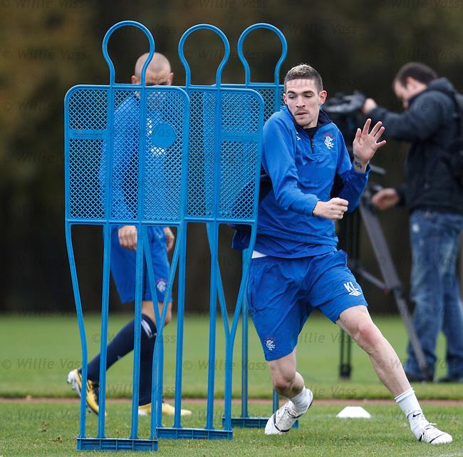 Kyle Laferty looking flexible