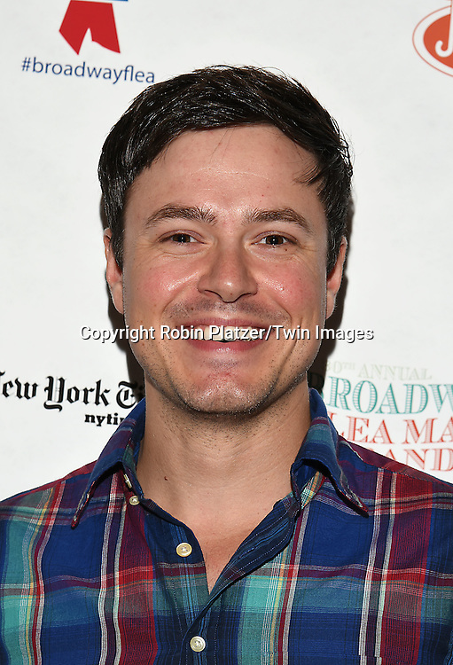 Aaron C Finley attends the Broadway Cares/Equity Fights Aids Flea Market and Grand Auction on September 25, 2016 at the Music Box Theatre and in Shubert Ally in New York, New York, USA. <br /> <br /> photo by Robin Platzer/Twin Images<br />  <br /> phone number 212-935-0770