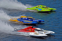 "Ken Brodie II, Pierre Maheu, GP-50 ""Intensity"" , GP-773, Mathew Daoust, GP-9 (Grand Prix Hydroplane(s)"