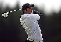 20 May, 2010:  Middle Tennessee State's Kent Bulle drives the ball off the tee on hole one of the NCAA Division I Regionals tournament Thursday at Gold Mountain Golf Course in Bremerton, WA.
