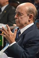 RIO DE JANEIRO-15/06/2012-O Senador Francisco Dornelles na abertura da I Cupula Mundial de Legisladores, na ALERJ, centro do Rio.Foto:Marcelo Fonseca-Brazil Photo Press