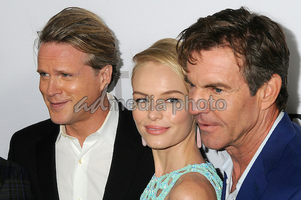 "29 October 2015 - Culver City, California - Cary Elwes, Kate Bosworth, Dennis Quaid. ""The Art Of More"" Series Premiere held at Sony Pictures Studios. Photo Credit: Byron Purvis/AdMedia"