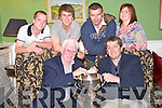 Pictured at the draw for the 36th annual Killarney Athletic seven a side tournament in the Dromhall Hotel, Killarney on Monday night were Don O'Donopghue, chairman Killarney Athletic, Colm Kiely, Killarney Credit Union, Sponsors, Damien McCormick, Gary Moynihan, Sean O'Donoghue and Collette Casey.
