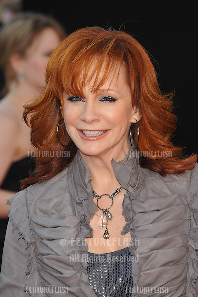 Reba McEntire at the 2009 American Music Awards at the Nokia Theatre L.A. Live..November 22, 2009  Los Angeles, CA.Picture: Paul Smith / Featureflash