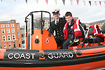 Ciaran Cassidy in the Coastguard boat at Scotch Hall...Photo NEWSFILE/Jenny Matthews.(Photo credit should read Jenny Matthews/NEWSFILE)....This Picture has been sent you under the condtions enclosed by:.Newsfile Ltd..The Studio,.Millmount Abbey,.Drogheda,.Co Meath..Ireland..Tel: +353(0)41-9871240.Fax: +353(0)41-9871260.GSM: +353(0)86-2500958.email: pictures@newsfile.ie.www.newsfile.ie.FTP: 193.120.102.198.