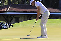 Thomas Pieters (BEL) putts on the 5th green during Saturday's Round 3 of the 2018 Turkish Airlines Open hosted by Regnum Carya Golf &amp; Spa Resort, Antalya, Turkey. 3rd November 2018.<br /> Picture: Eoin Clarke | Golffile<br /> <br /> <br /> All photos usage must carry mandatory copyright credit (&copy; Golffile | Eoin Clarke)