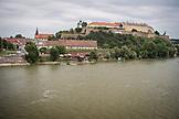 SERBIA, Novi Sad, The Novi Sad City Museum above the River Danube, Eastern Europe