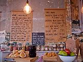 ENGLAND, Brighton, Inside Cafe Marmalade