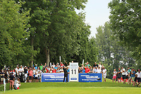 Justin Walters (RSA) during the final round of the Shot Clock Masters played at Diamond Country Club, Atzenbrugg, Vienna, Austria. 10/06/2018<br /> Picture: Golffile | Phil Inglis<br /> <br /> All photo usage must carry mandatory copyright credit (&copy; Golffile | Phil Inglis)