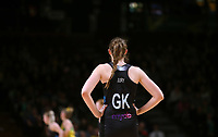 11.10.2017 Silver Ferns Kelly Juryin action during the Constellation Cup netball match between the Silver Ferns and Australia at Titanium Security Arena in Adelaide. Mandatory Photo Credit ©Michael Bradley.