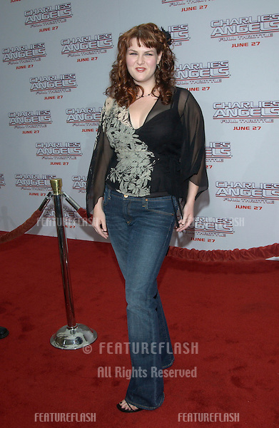 Actress SARA RUE at the Hollywood premiere of  Charlie's Angels: Full Throttle..June 18, 2003.