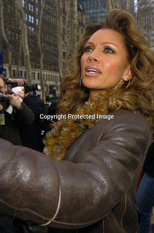 Vanessa Williams ..at The Heart Truth's Red Dress Collection at the Olympus..Fashion Week in Bryant Park on February 4, 2005...Photo by Robin Platzer, Twin Images