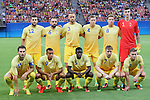 Sweden team group line-up (SWE), <br /> AUGUST 4, 2016 - Football / Soccer : <br /> Men's First Round Group B <br /> between Sweden 2-2 Colombia <br /> at Amazonia Arena <br /> during the Rio 2016 Olympic Games in Manaus, Brazil. <br /> (Photo by YUTAKA/AFLO SPORT)