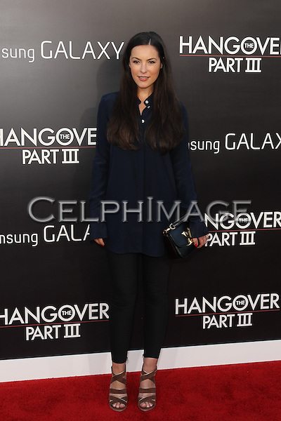 "Sasha Barrese. Los Angeles premiere of Warner Bros. Pictures' and Legendary Pictures' ""The Hangover Part III,"" at the Westwood Village Theater. Los Angeles, CA USA. May 20, 2013.©CelphImage"