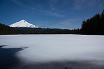 Trillium Lake, Mount Hood National Forest, Oregon