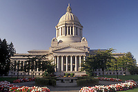 AJ3682, Olympia, State Capitol, State House, Washington, State Capitol building on the Capitol Campus in the capital city of Olympia in the state of Washington.
