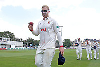 Simon Harmer leaves the field having taking six wickets as Essex clinch victory during Essex CCC vs Warwickshire CCC, Specsavers County Championship Division 1 Cricket at The Cloudfm County Ground on 16th July 2019