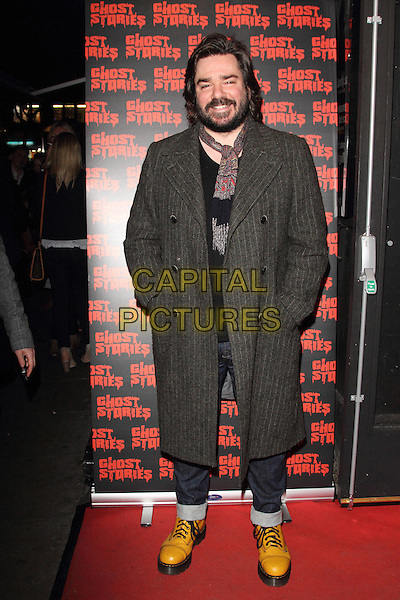LONDON, ENGLAND - FEBRUARY 27: Matt Berry attends the 'Ghost Stories' Press Night at the Arts Theatre on February 27, 2014 in London, England.<br /> CAP/ROS<br /> &copy;Steve Ross/Capital Pictures