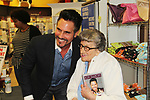 "97 year old Fan with The Bold and The Beautiful Don Diamont signed his book ""My Seven Sons and How We Raised Each Other""  - They only drive me crazy 30% of the time - for fans after a Q and A on May 31, 2018 at Books & Greetings in Northvale, New Jersey.  (Photo by Sue Coflin/Max Photo)"