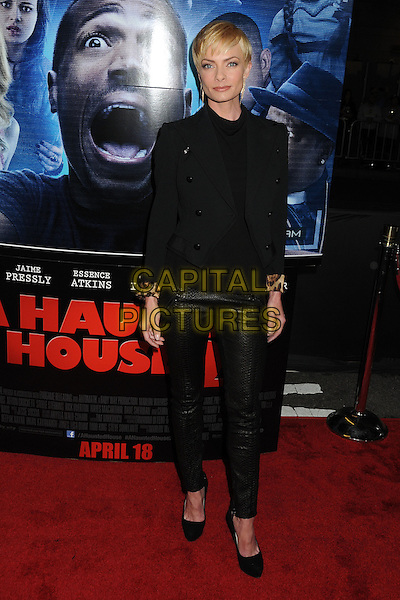 16 April 2014 - Los Angeles, California - Jaime Pressly. &quot;A Haunted House 2&quot; Los Angeles Premiere held at Regal Cinemas LA Live. <br /> CAP/ADM/BP<br /> &copy;Byron Purvis/AdMedia/Capital Pictures
