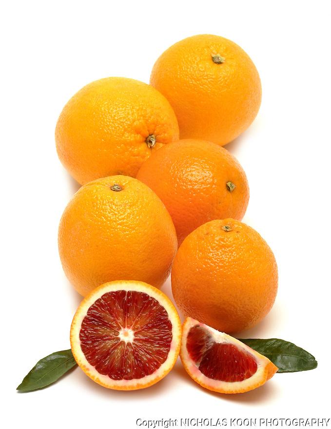 Oranges still life.