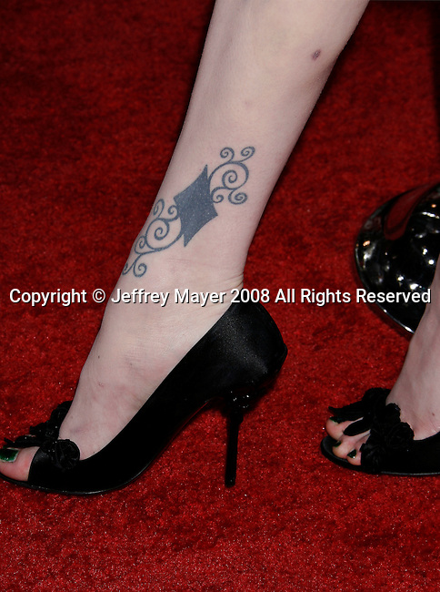 "HOLLYWOOD, CA. - November 06: Actress Evan Rachel Wood arrives at AFI FEST 2008 Centerpiece Gala Screening Of ""The Wrestler"" on November 6, 2008 in Los Angeles, California."