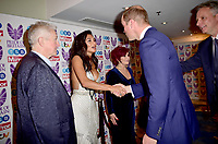 30 October 2017 - Prince William Duke of Cambridge with Louis Walsh, Nicole Scherzinger and Sharon Osbourne at the Pride Of Britain Awards 2017 at The Grosvenor House Hotel London. Photo Credit: ALPR/AdMedia