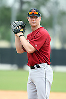 March 16th 2008:  Brian Gordan of the Houston Astros minor league system during Spring Training at Osceola County Complex in Kissimmee, FL.  Photo by:  Mike Janes/Four Seam Images