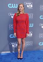 11 January 2018 - Santa Monica, California - Yvonne Strahovski. 23rd Annual Critics' Choice Awards held at Barker Hangar. <br /> CAP/ADM/BT<br /> &copy;BT/ADM/Capital Pictures