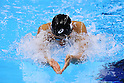 Satomi Suzuki  (JPN), <br /> AUGUST 12, 2016 - Swimming : <br /> Women's 4x100m Medley Relay Heat <br /> at Olympic Aquatics Stadium <br /> during the Rio 2016 Olympic Games in Rio de Janeiro, Brazil. <br /> (Photo by Yohei Osada/AFLO SPORT)
