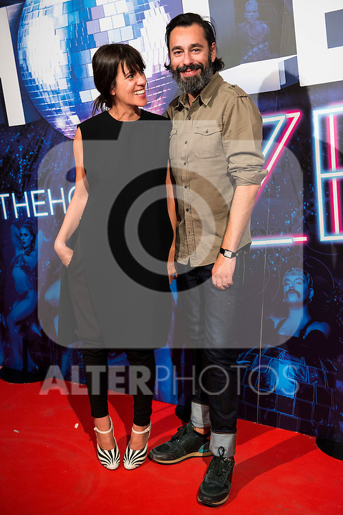Amaya Arzuaga and Juanjo Oliva attends to the premiere of the The Hole Zero Show at Teatro Calderon in Madrid. October 04, 2016. (ALTERPHOTOS/Borja B.Hojas)