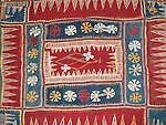 ATK-156  ANTIQUE CLOTH CRADLE HAMMOCK BANJARA