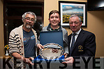 The first Major of the Waterville Golfing Calendar The John Quinlan Memorial was won on Sunday by Sam Brennan(12) with a score of 40pts picture here l-r; Paudie Quinlan, Sam Brennan & Captain Patrick Fitzgerald.  Second was Abe Huggard(7) 40pts, Best Gross Mike Murphy(6) 30pts and 3rd Jimmy Sugrue(13) 39pts.