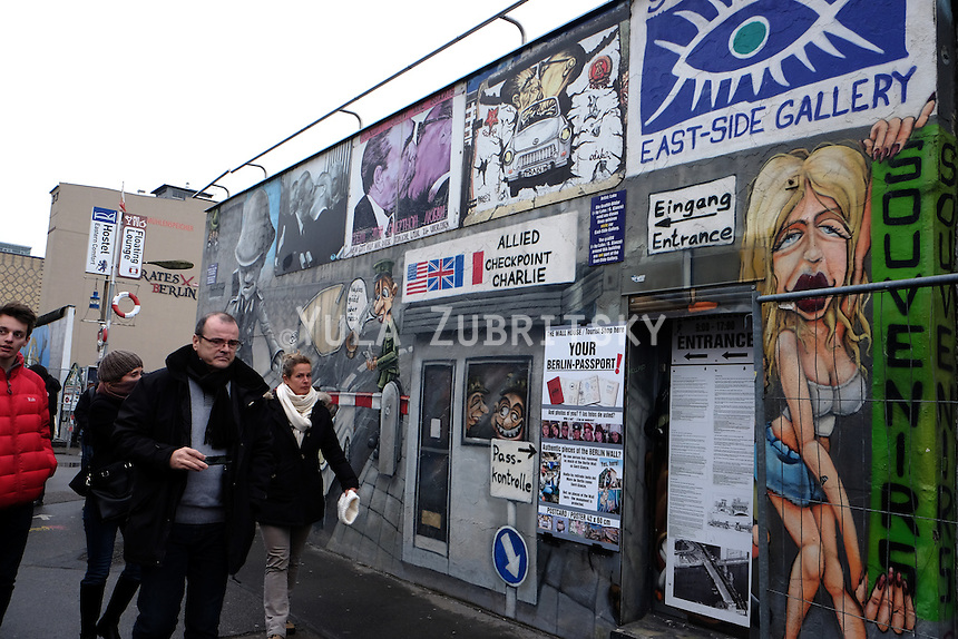 Germany Berlin Wall graffiti art