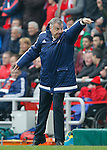 Sam Allardyce manager of Sunderland points during the Barclays Premier League match at the Stadium of Light, Sunderland. Photo credit should read: Simon Bellis/Sportimage
