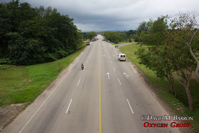 Motorcycle Racing On Public Highway 400 heading South