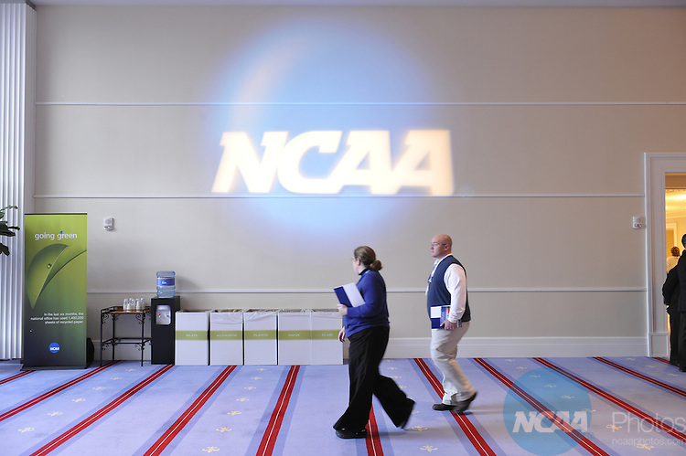 14 JAN 2009: Signage at the 2009 NCAA Convention at the Gaylord National Resort and Convention Center in Washington D.C. Pictured: Stephen Nowland/NCAA Photos
